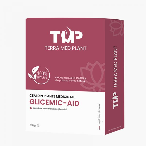 Ceai din plante medicinale GLICEMIC-AID 250 g Terra Med Plant