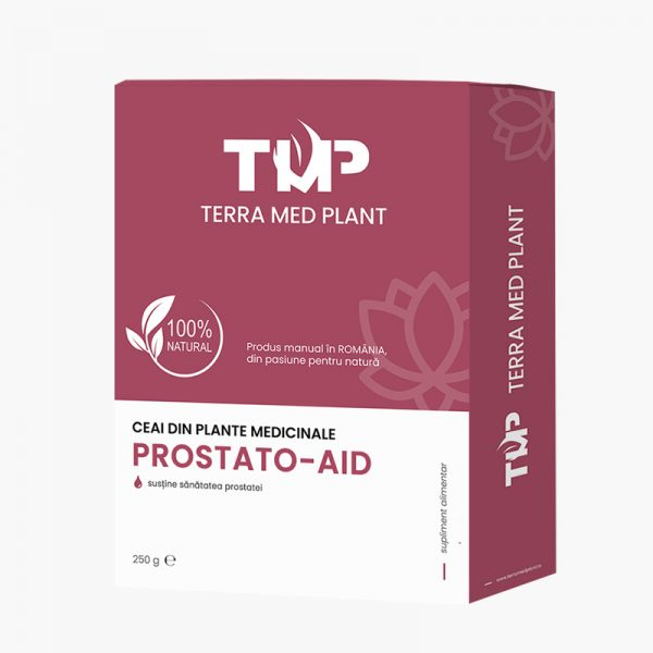 Ceai din plante medicinale PROSTATO-AID 250 g Terra Med Plant