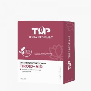 Ceai din plante medicinale TIROID-AID 125 g Terra Med Plant