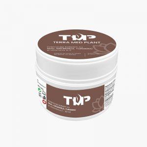 Crema tip balsam cu NUC, GALBENELE, TURMERIC si vitamina A, E 50 ml terra med plant