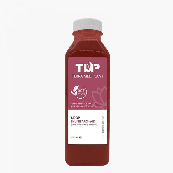 sirop imunitaro aid 500 ml terra med plant remedii naturiste