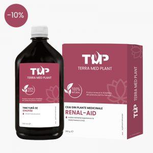 Ceai RENAL-AID 250 g si Tinctura de IENUPAR 500ml terra med plant